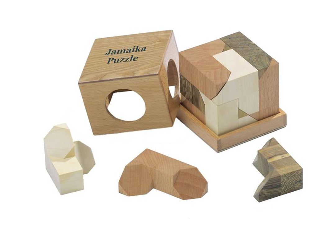 Knobelspiel/GeduldspielPackwürfel Jamaika-Puzzle