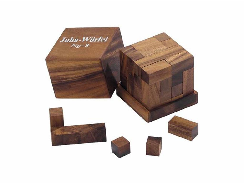 Knobelspiel/GeduldspielPackwürfel Juha-08