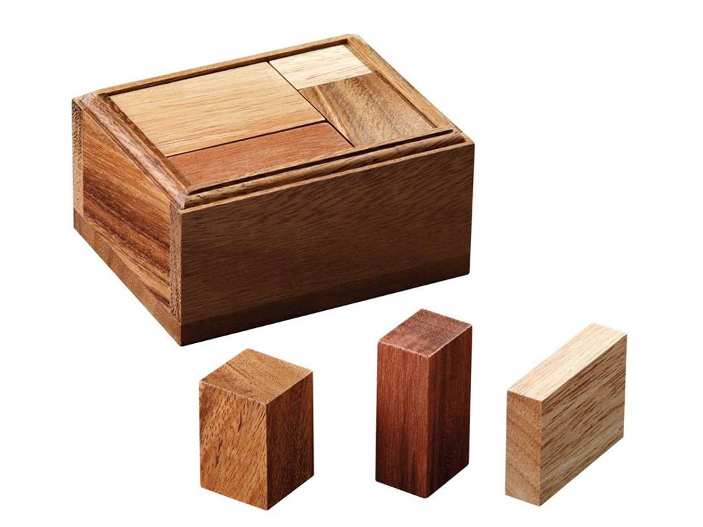 Knobelspiel/GeduldspielPackwürfel Serious Bricks