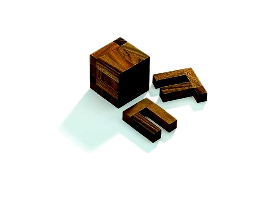 Knobelspiel/GeduldspielPackwürfel U-Cube