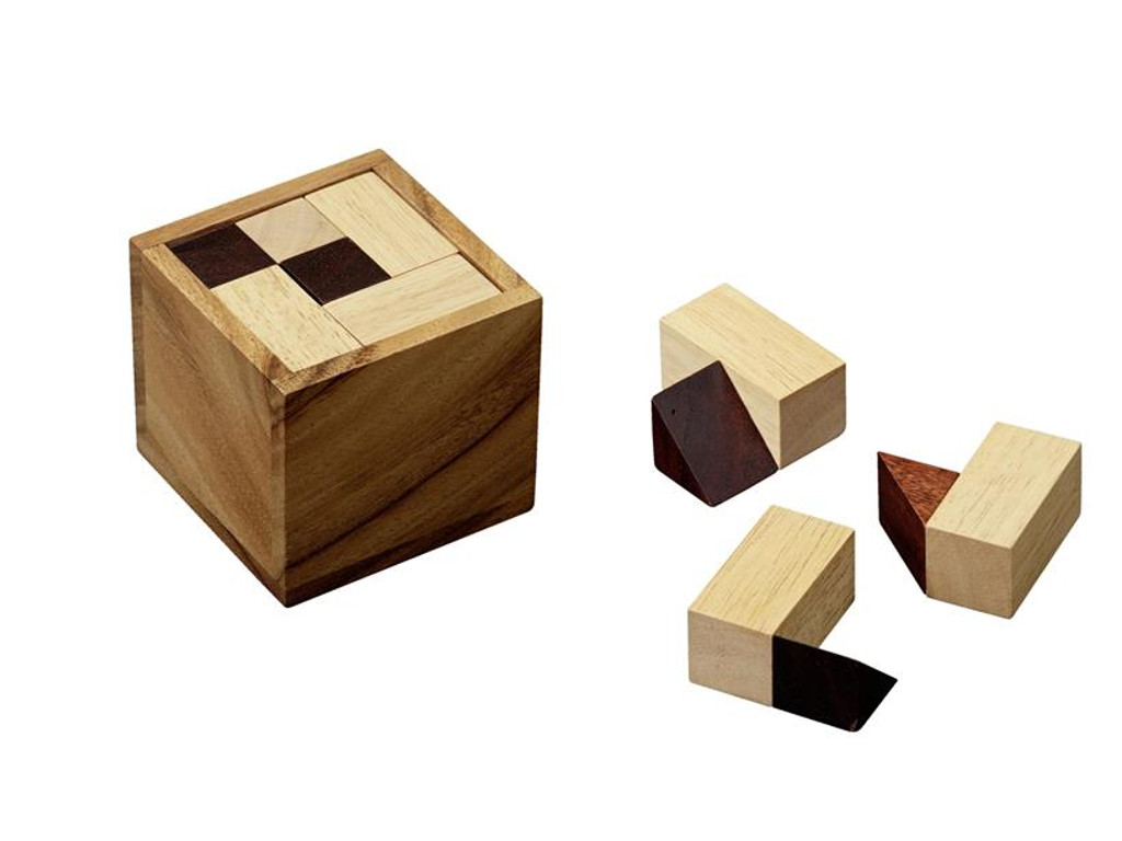 Knobelspiel/GeduldspielPackwürfel Two and a Half