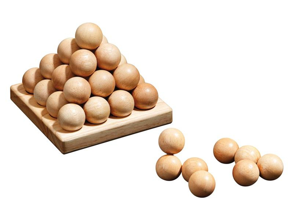 Knobelspiel/GeduldspielPuzzle Pyramide Sphere Pyramid