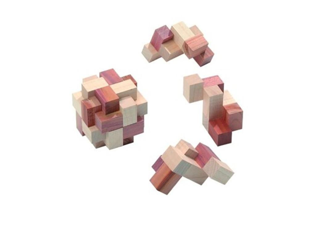 Knobelspiel/GeduldspielPuzzle Variante Prismastar
