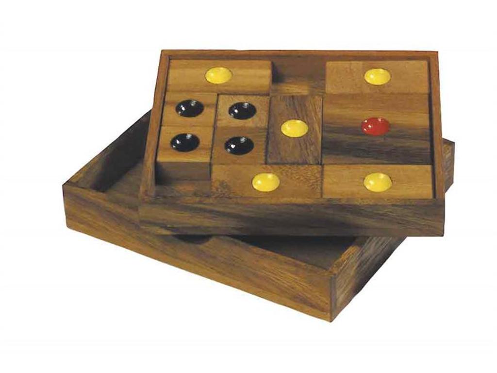 Puzzle Variante Khun Pan, mittel