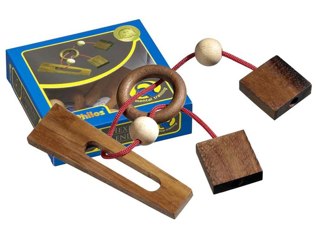 Knobelspiel/GeduldspielSeilpuzzle Hexenende