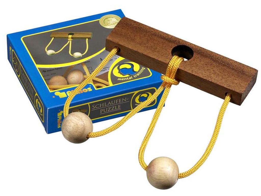 Knobelspiel/GeduldspielSeilpuzzle Schlaufenpuzzle