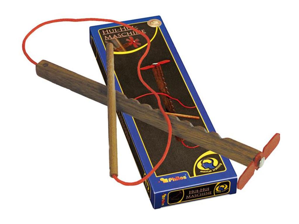 Knobelspiel/GeduldspielPuzzle mit Trick Hui Hui Maschine