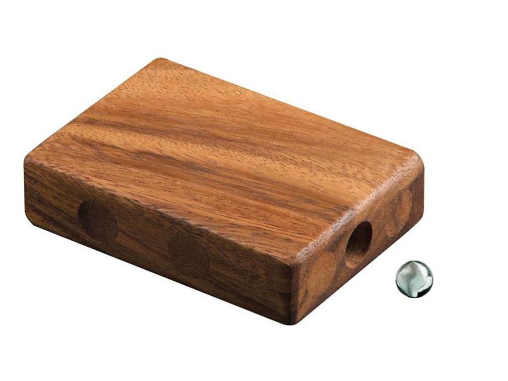 Knobelspiel/GeduldspielPuzzle mit Trick Verlorene Murmel