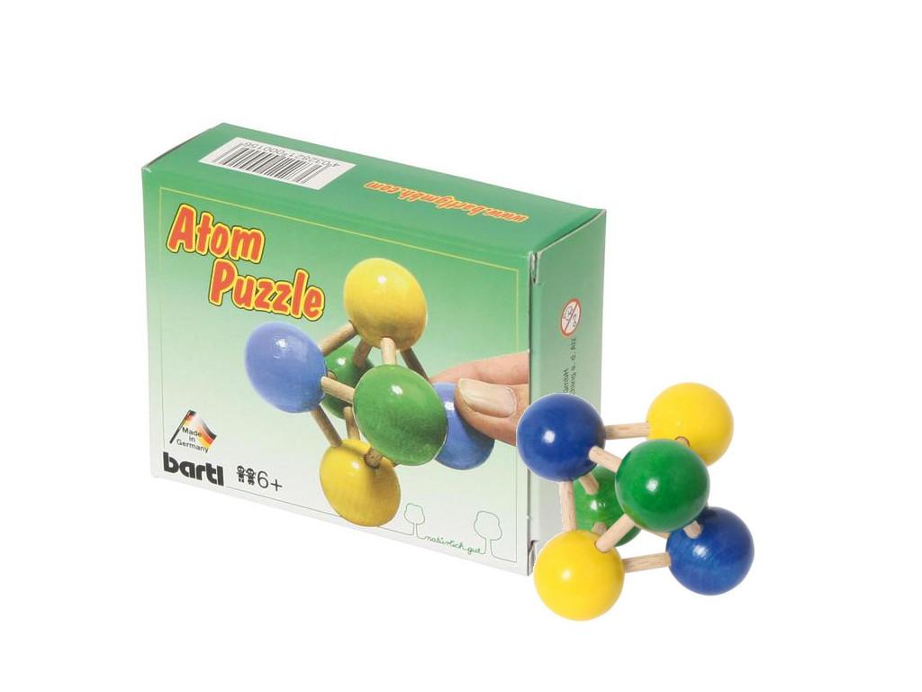 Knobelspiel/GeduldspielTaschenpuzzle Atom-Puzzle