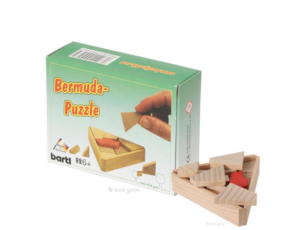 Knobelspiel/GeduldspielTaschenpuzzle Bermuda-Puzzle