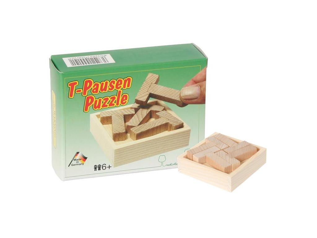 Knobelspiel/GeduldspielTaschenpuzzle Das T-Pausen Puzzle