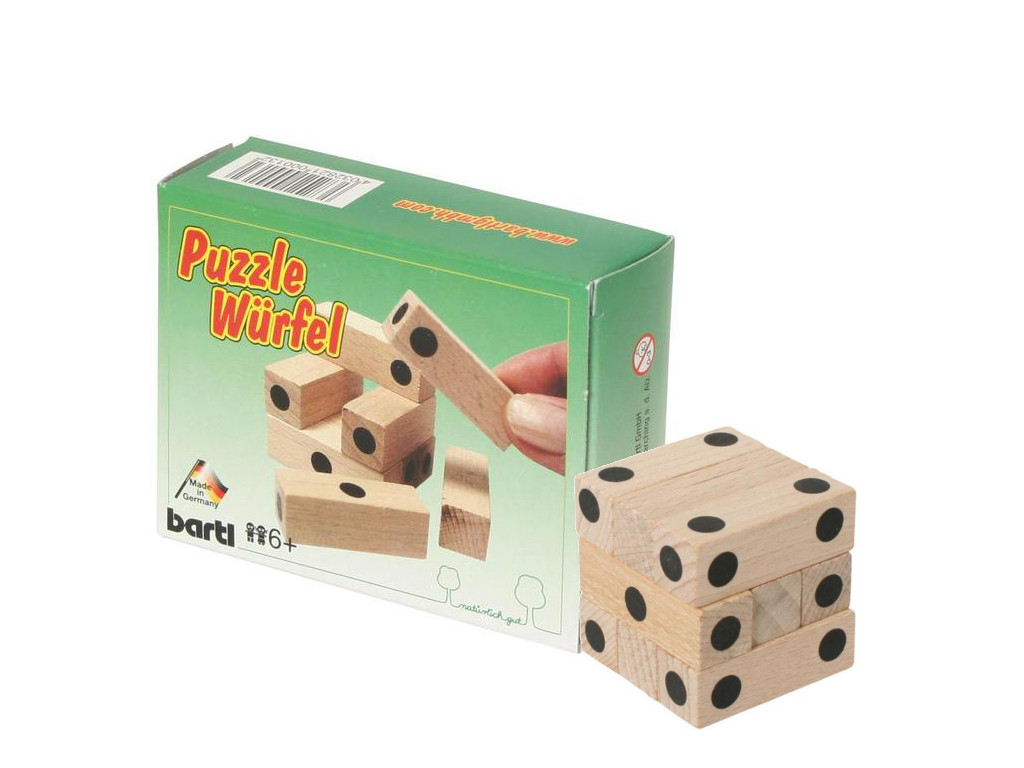 Knobelspiel/GeduldspielTaschenpuzzle Der Puzzle-Würfel