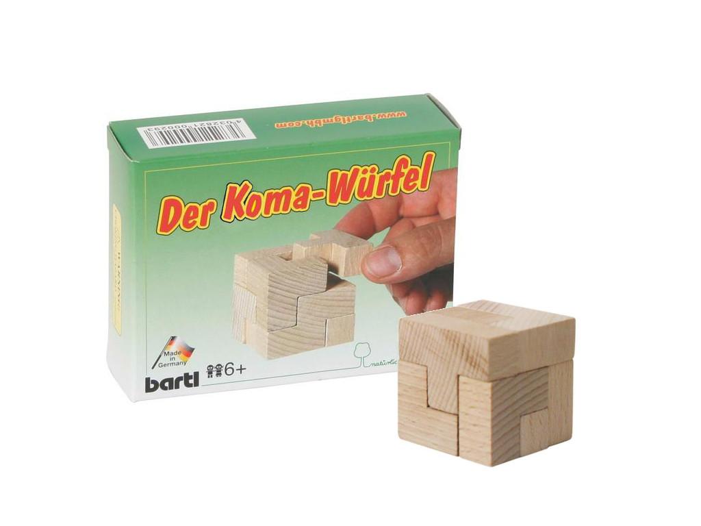 Knobelspiel/GeduldspielTaschenpuzzle Koma-Würfel (Soma Würfel)