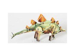 Knobelspiel/Geduldspiel3D Puzzle Dinosaurier mit Motor Stegosaurus