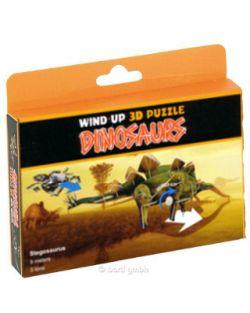 3D Puzzle Dinosaurier mit Motor Stegosaurus