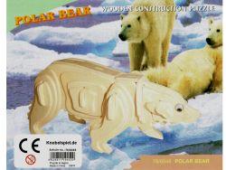 3D Holzpuzzle Eisbär