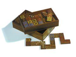 Knobelspiel/GeduldspielGesellschaftsspiel Domino Doppel 9
