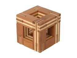 Knobelspiel/GeduldspielHolzknoten Bambus-Puzzle C