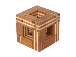 Holzknoten Bambus-Puzzle C