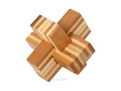 Holzknoten Bambus-Puzzle Teufelsknoten