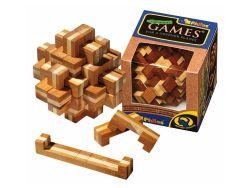 Knobelspiel/GeduldspielHolzknoten Verflixter Knoten,Bambus