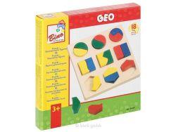 Kinderpuzzle Bino Geometrisches Formenspiel