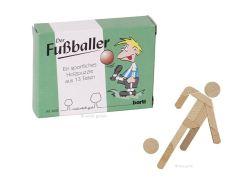 Knobelspiel/GeduldspielLegespiel Der Fußballer