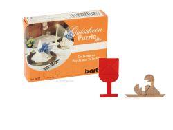 Knobelspiel/GeduldspielLegespiel Gutscheinpuzzle Dinner