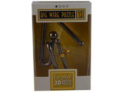 Knobelspiel/GeduldspielMetallpuzzle Big Wire Puzzle 13