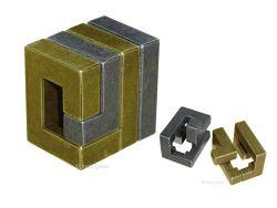 Knobelspiel/GeduldspielMetall Cast Puzzle Coil