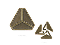 Metall Cast Puzzle Delta