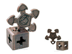 Metall Cast Puzzle O`Gear