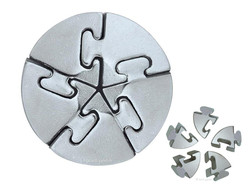 Metall Cast Puzzle Spiral