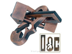 Metall Cast Puzzle Violon
