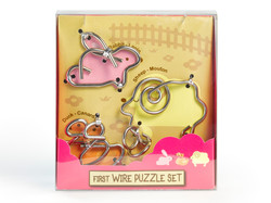 Knobelspiel/Geduldspiel Metall Drahtpuzzle First Wire Puzzle Animal 01