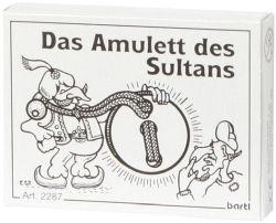 Knobelspiel/GeduldspielMini Puzzle Das Amulett des Sultans