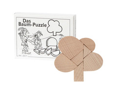Knobelspiel/GeduldspielMini Puzzle Das Baum-Puzzle