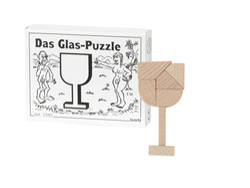 Knobelspiel/GeduldspielMini Puzzle Das Glas-Puzzle