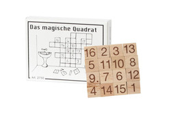 Knobelspiel/GeduldspielMini Puzzle Das magische Quadrat