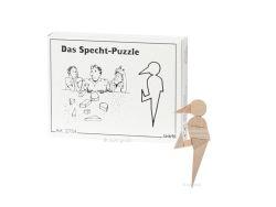 Knobelspiel/GeduldspielMini Puzzle Das Specht-Puzzle