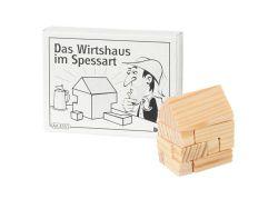 Knobelspiel/GeduldspielMini Puzzle Das Wirtshaus im Spessart