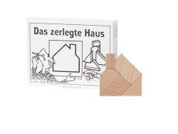 Knobelspiel/GeduldspielMini Puzzle Das zerlegte Haus
