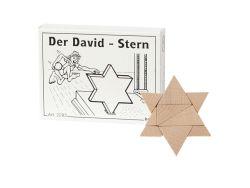 Knobelspiel/GeduldspielMini Puzzle Der David-Stern