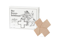 Mini Puzzle Der Kreuz-Schlüssel
