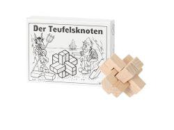 Knobelspiel/GeduldspielMini Puzzle Der Teufelsknoten