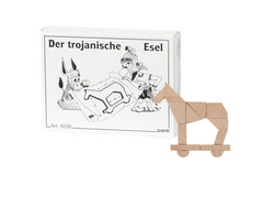 Knobelspiel/GeduldspielMini Puzzle Der trojanische Esel