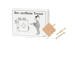 Knobelspiel/GeduldspielMini Puzzle Der verflixte Tresor