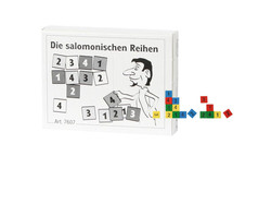 Knobelspiel/GeduldspielMini Puzzle Die salomonischen Reihen