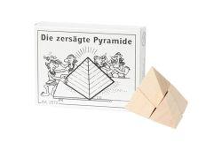Knobelspiel/GeduldspielMini Puzzle Die zersägte Pyramide
