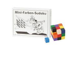 Knobelspiel/GeduldspielMini Puzzle Mini-Farben-Sudoku